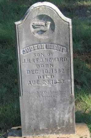 HOWARD, JUDSON HURBIT - Logan County, Arkansas | JUDSON HURBIT HOWARD - Arkansas Gravestone Photos