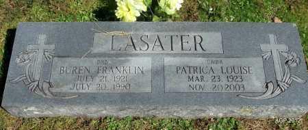 "LASATER, PATRICIA LOUISE ""PATSY"" - Logan County, Arkansas | PATRICIA LOUISE ""PATSY"" LASATER - Arkansas Gravestone Photos"