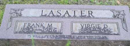 LASATER, FRANK M. - Logan County, Arkansas   FRANK M. LASATER - Arkansas Gravestone Photos