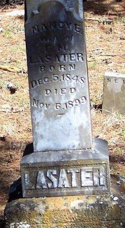 LASATER, NANCY ELIZABETH - Logan County, Arkansas   NANCY ELIZABETH LASATER - Arkansas Gravestone Photos