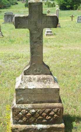 BERG LEHNEN, ELIZABETH - Logan County, Arkansas | ELIZABETH BERG LEHNEN - Arkansas Gravestone Photos