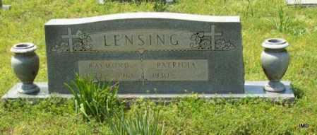 LENSING, RAYMOND - Logan County, Arkansas   RAYMOND LENSING - Arkansas Gravestone Photos
