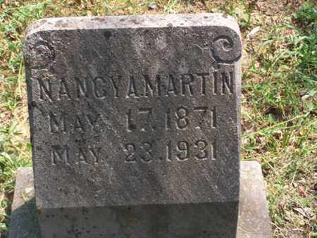 MARTIN, NANCY A - Logan County, Arkansas   NANCY A MARTIN - Arkansas Gravestone Photos