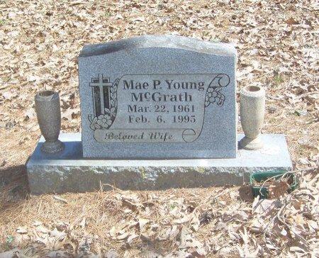 YOUNG MCGRATH, MAE PEARL  - Logan County, Arkansas   MAE PEARL  YOUNG MCGRATH - Arkansas Gravestone Photos