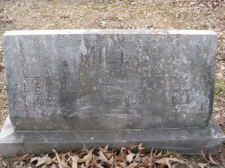 MILLS, E R - Logan County, Arkansas | E R MILLS - Arkansas Gravestone Photos