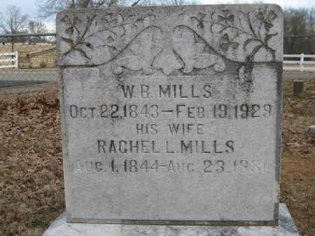 MILLS, RACHEL L - Logan County, Arkansas | RACHEL L MILLS - Arkansas Gravestone Photos