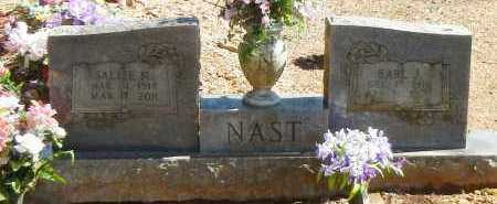 VAUGHN NAST, SALLIE MARIE - Logan County, Arkansas | SALLIE MARIE VAUGHN NAST - Arkansas Gravestone Photos