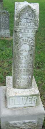 OLIVER, CLARISSA M - Logan County, Arkansas | CLARISSA M OLIVER - Arkansas Gravestone Photos