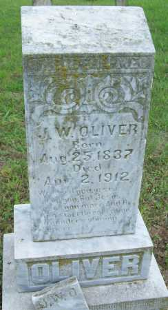 OLIVER, J W - Logan County, Arkansas | J W OLIVER - Arkansas Gravestone Photos