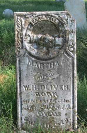 OLIVER, MARTHA E - Logan County, Arkansas   MARTHA E OLIVER - Arkansas Gravestone Photos