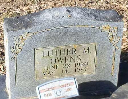 OWENS, LUTHER M. - Logan County, Arkansas | LUTHER M. OWENS - Arkansas Gravestone Photos