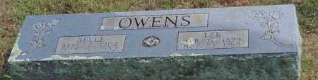 OWENS, BELLE - Logan County, Arkansas | BELLE OWENS - Arkansas Gravestone Photos
