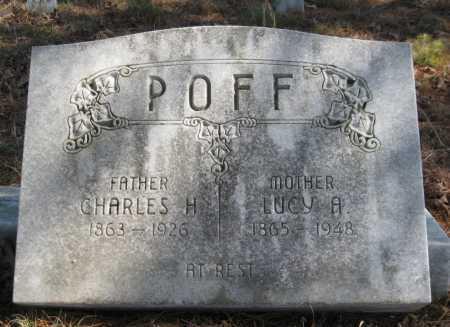 POFF, CHARLES H - Logan County, Arkansas | CHARLES H POFF - Arkansas Gravestone Photos