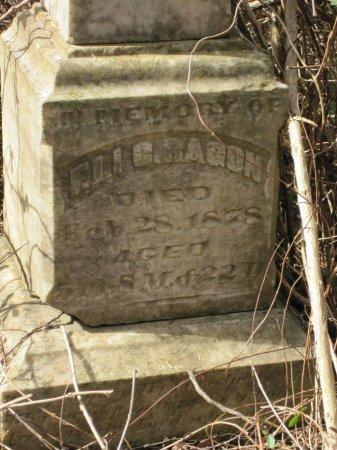 RAGON, ELI CLEVE (CLOSE UP) - Logan County, Arkansas   ELI CLEVE (CLOSE UP) RAGON - Arkansas Gravestone Photos