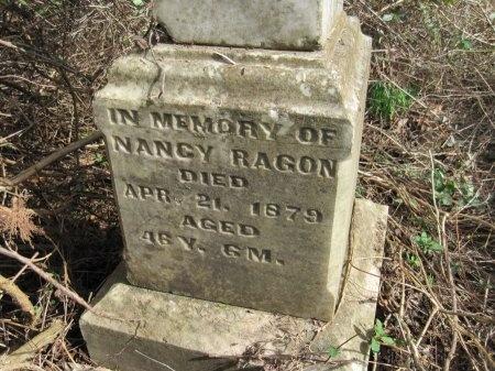 RAGON, NANCY AGNES (CLOSE UP) - Logan County, Arkansas   NANCY AGNES (CLOSE UP) RAGON - Arkansas Gravestone Photos