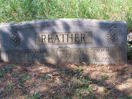 REATHER, JOHN PERRY - Logan County, Arkansas | JOHN PERRY REATHER - Arkansas Gravestone Photos
