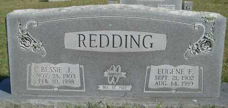 REDDING, BESSIE J. - Logan County, Arkansas | BESSIE J. REDDING - Arkansas Gravestone Photos