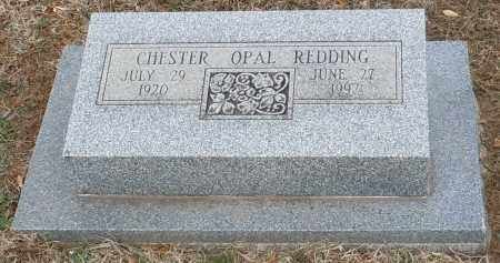 REDDING, CHESTER OPAL - Logan County, Arkansas | CHESTER OPAL REDDING - Arkansas Gravestone Photos