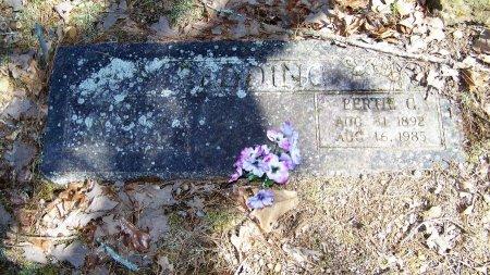 REDDING, BERTIE C - Logan County, Arkansas | BERTIE C REDDING - Arkansas Gravestone Photos