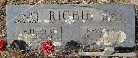 RICHIE, WILLIAM M - Logan County, Arkansas   WILLIAM M RICHIE - Arkansas Gravestone Photos