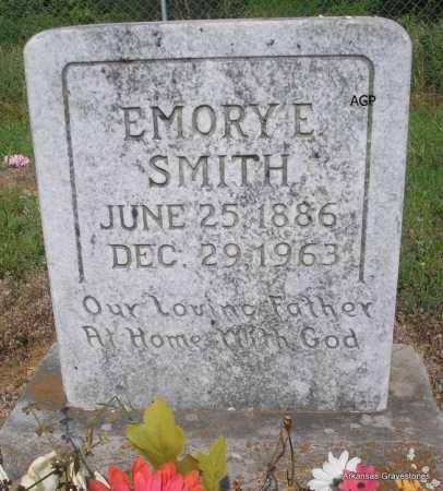 SMITH, EMORY E - Logan County, Arkansas   EMORY E SMITH - Arkansas Gravestone Photos