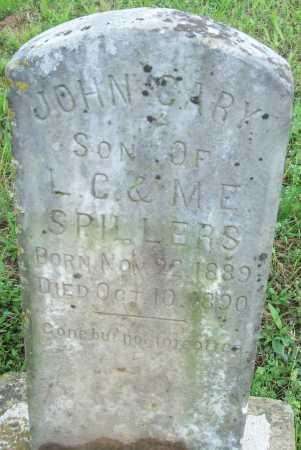 SPILLERS, JOHN GARY - Logan County, Arkansas | JOHN GARY SPILLERS - Arkansas Gravestone Photos