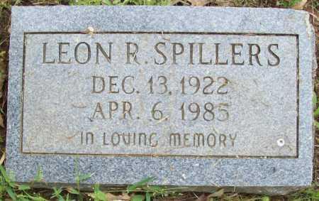 SPILLERS, LEON R - Logan County, Arkansas | LEON R SPILLERS - Arkansas Gravestone Photos