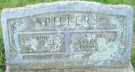 SPILLERS, MARY ELLEN - Logan County, Arkansas | MARY ELLEN SPILLERS - Arkansas Gravestone Photos