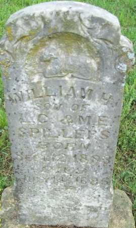 SPILLERS, WILLIAM H. - Logan County, Arkansas | WILLIAM H. SPILLERS - Arkansas Gravestone Photos