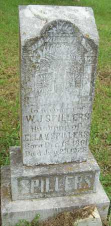 SPILLERS, W  J - Logan County, Arkansas | W  J SPILLERS - Arkansas Gravestone Photos