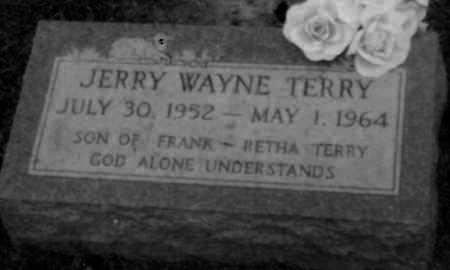 TERRY, JERRY - Logan County, Arkansas   JERRY TERRY - Arkansas Gravestone Photos