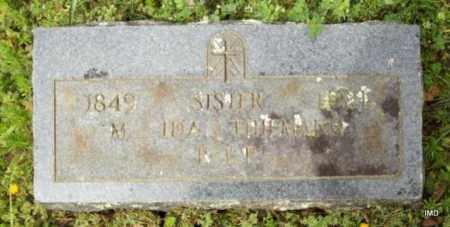 THIEMANN, SISTER M IDA - Logan County, Arkansas | SISTER M IDA THIEMANN - Arkansas Gravestone Photos