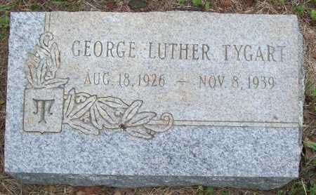 TYGART, GEORGE LUTHER - Logan County, Arkansas | GEORGE LUTHER TYGART - Arkansas Gravestone Photos