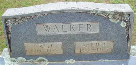 WALKER, ARTHUR - Logan County, Arkansas | ARTHUR WALKER - Arkansas Gravestone Photos