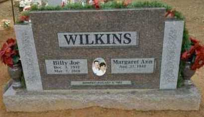 WILKINS, BILLY JOE - Logan County, Arkansas | BILLY JOE WILKINS - Arkansas Gravestone Photos