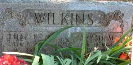 WILKINS, SARAH MATILDA - Logan County, Arkansas | SARAH MATILDA WILKINS - Arkansas Gravestone Photos