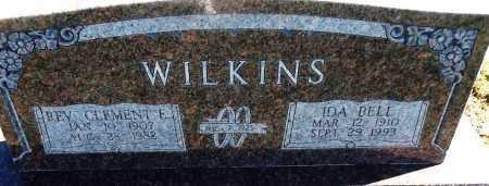 WILKINS, IDA BELL - Logan County, Arkansas   IDA BELL WILKINS - Arkansas Gravestone Photos
