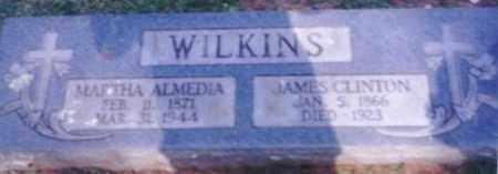WILKINS, MARTHA ALMEDIA - Logan County, Arkansas   MARTHA ALMEDIA WILKINS - Arkansas Gravestone Photos