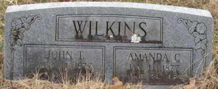 WILKINS, JOHN T - Logan County, Arkansas   JOHN T WILKINS - Arkansas Gravestone Photos