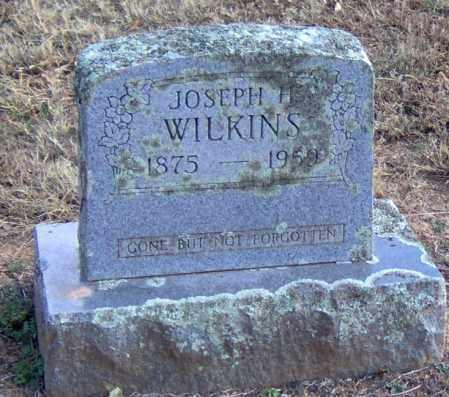 WILKINS, JOSEPH HENRY - Logan County, Arkansas   JOSEPH HENRY WILKINS - Arkansas Gravestone Photos