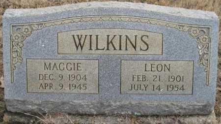 WILKINS, LEON - Logan County, Arkansas | LEON WILKINS - Arkansas Gravestone Photos