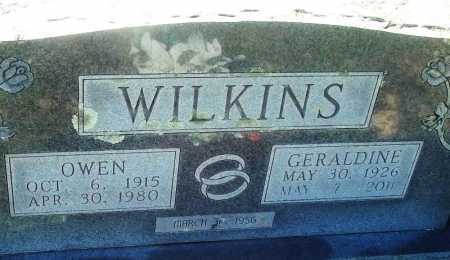 WILKINS, GERALDINE - Logan County, Arkansas | GERALDINE WILKINS - Arkansas Gravestone Photos