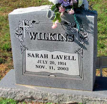 WILKINS, SARAH LAVELL - Logan County, Arkansas | SARAH LAVELL WILKINS - Arkansas Gravestone Photos