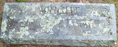 WRIGHT, AMYE - Logan County, Arkansas | AMYE WRIGHT - Arkansas Gravestone Photos