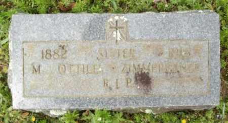 ZIMMEREBNER, SISTER M OTTILIA - Logan County, Arkansas   SISTER M OTTILIA ZIMMEREBNER - Arkansas Gravestone Photos