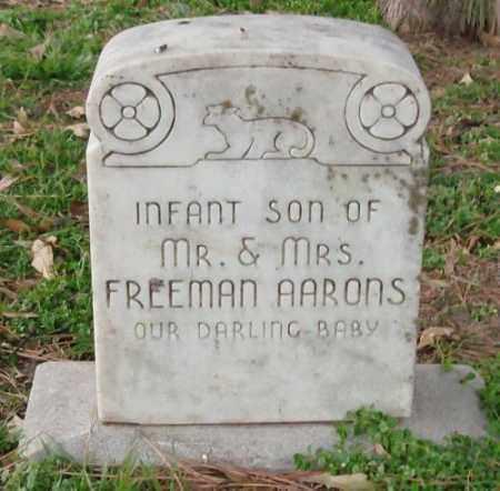 AARONS, INFANT SON - Lonoke County, Arkansas | INFANT SON AARONS - Arkansas Gravestone Photos