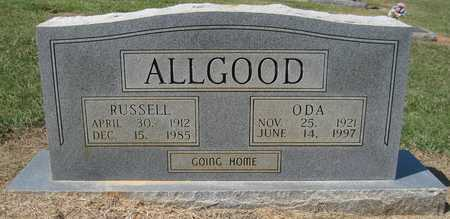 ALLGOOD, RUSSELL - Lonoke County, Arkansas | RUSSELL ALLGOOD - Arkansas Gravestone Photos