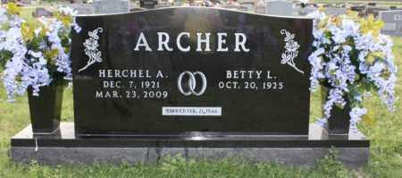 ARCHER, HERCHEL ALBA - Lonoke County, Arkansas   HERCHEL ALBA ARCHER - Arkansas Gravestone Photos