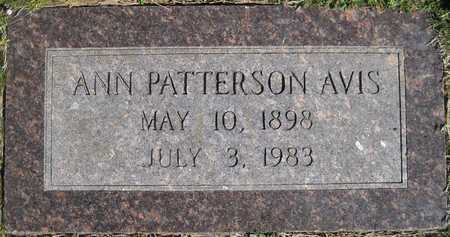 AVIS, ANN - Lonoke County, Arkansas | ANN AVIS - Arkansas Gravestone Photos