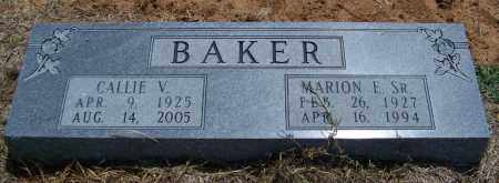 BAKER, CALLIE V - Lonoke County, Arkansas   CALLIE V BAKER - Arkansas Gravestone Photos